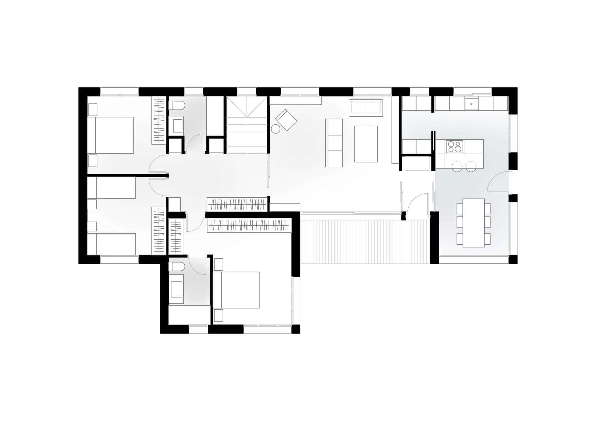 Plano Casa Asturias
